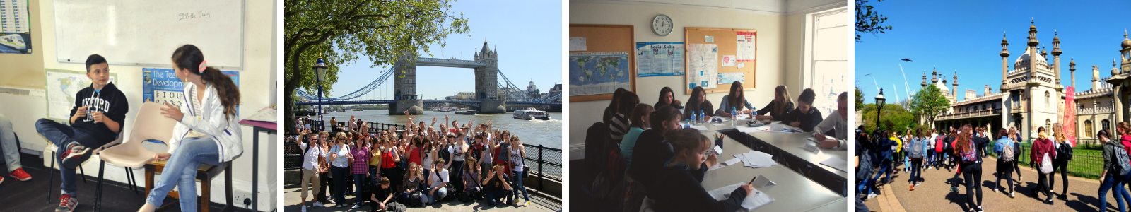 Visit England with English language courses at English for You