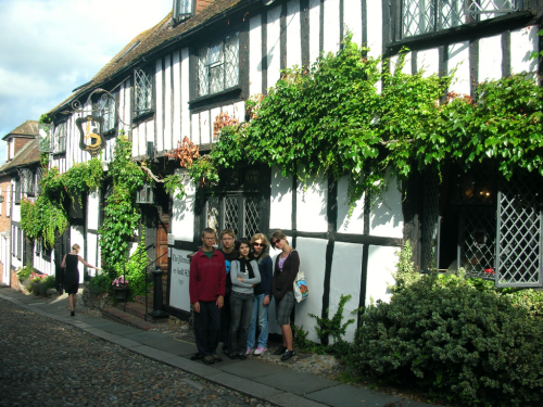 Tudor architecture in Rye